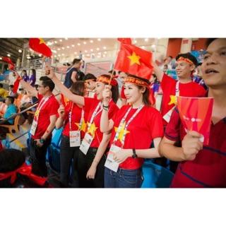 Sỉ dây ruy băng cổ vũ Việt Nam vô địch