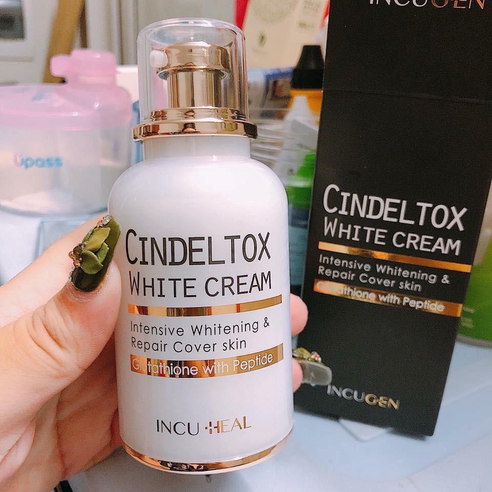 Kem Dưỡng Trắng Da Cindeltox White Cream - 2614661 , 1253279907 , 322_1253279907 , 650000 , Kem-Duong-Trang-Da-Cindeltox-White-Cream-322_1253279907 , shopee.vn , Kem Dưỡng Trắng Da Cindeltox White Cream