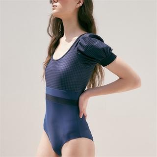 Xiuer New Hàn Quốc áo tắm một mảnh, bikini lưới cạp cao nhân vật
