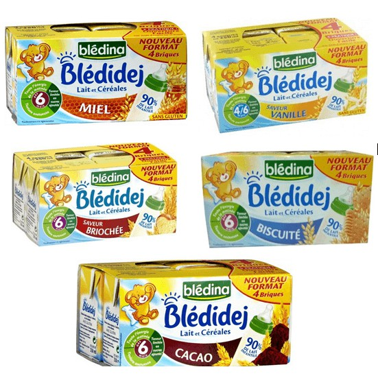 [FreeShip từ 99k] Chỉ từ 95k/ 1 lốc Combo 6 lốc Sữa nước Bledina 12m nội địa Pháp hộp 250ml