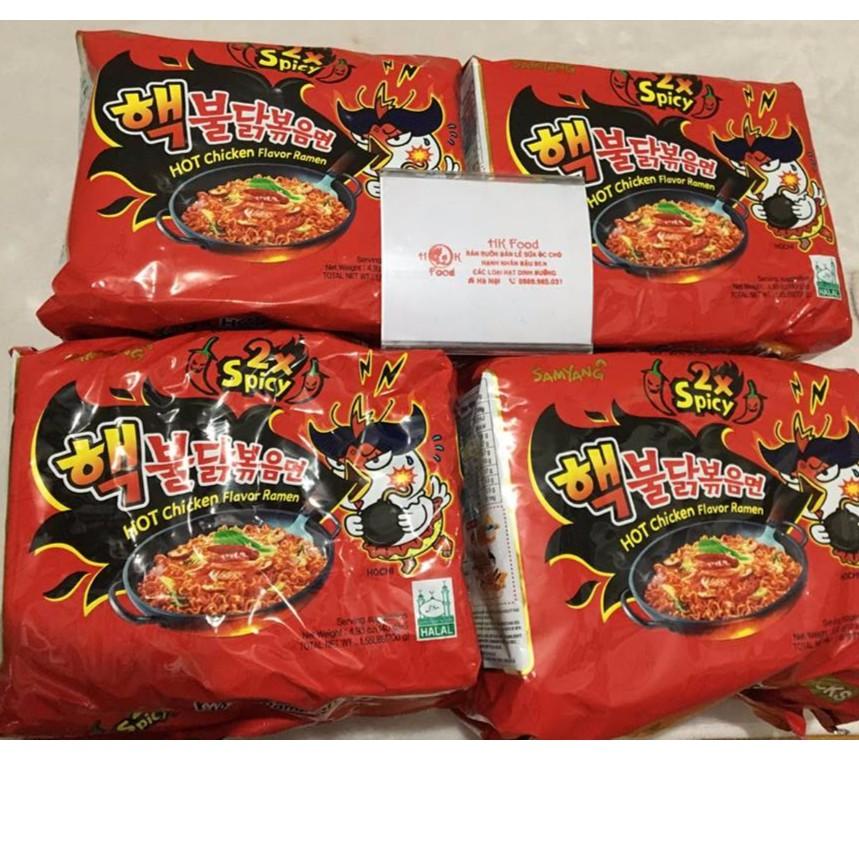 Mỳ cay samyang 2x combo 20 gói