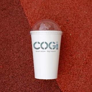 50 LY GIẤY TRẮNG KÈM NẮP CẦU 12OZ, 360ML 50 PCS PAPER CUP 12OZ 360ML WITH ROUND PLASTIC LID thumbnail