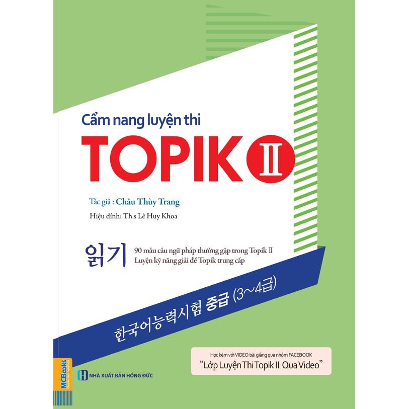 Cẩm nang luyện thi Topik II Châu Thùy Trang