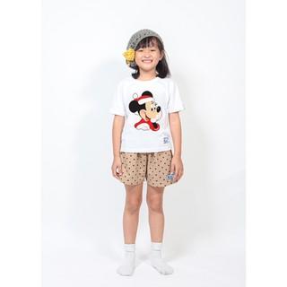 Áo thun trẻ em bé trai và gái in chuột mickey _FirstCRY