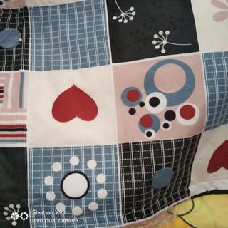 Vải thô cotton chuyên dụng may ga gối khổ rộng2,35m