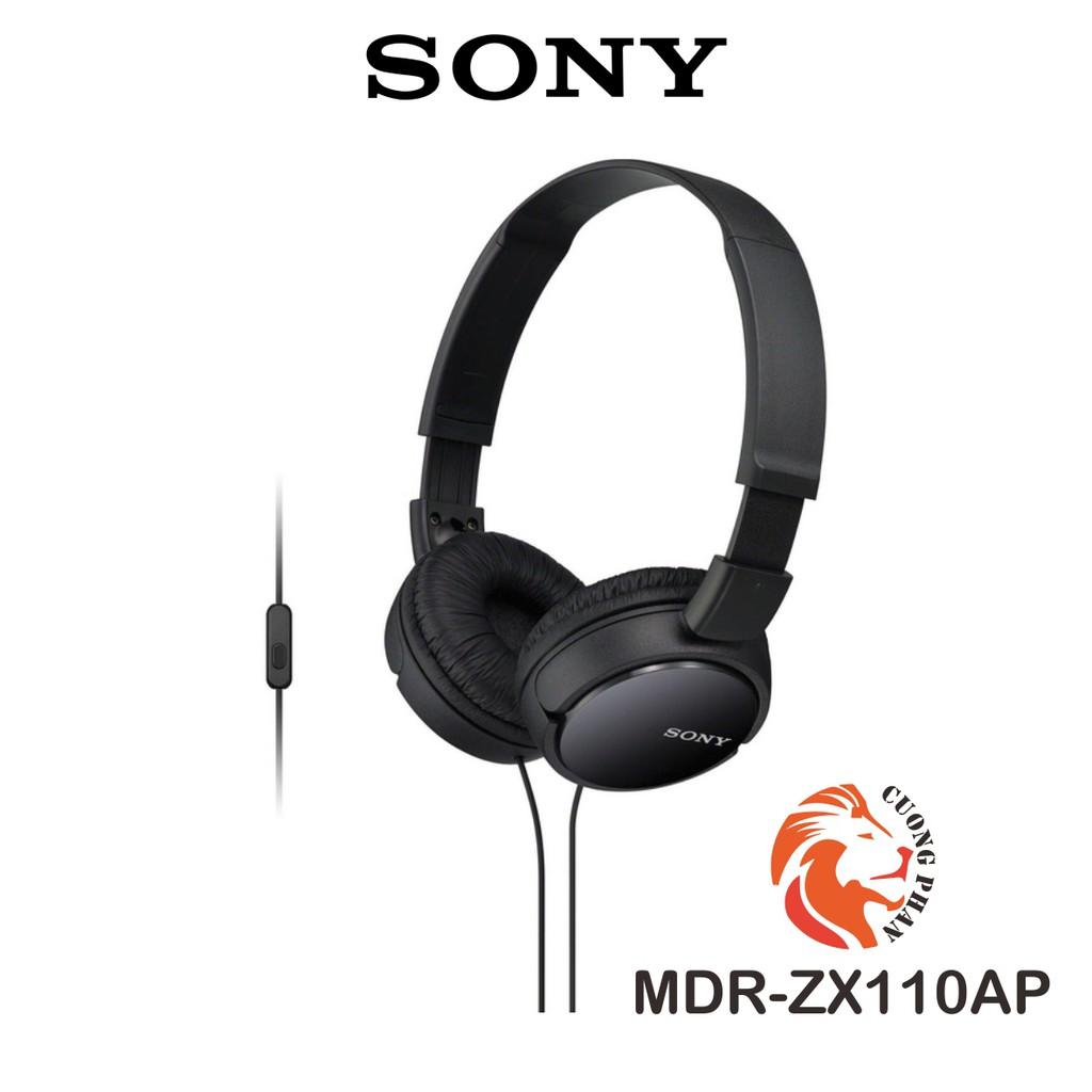Tai Nghe Chụp Tai Có Mic Sony ZX110AP  Chính Hãng Sony Việt Nam  Bảo Hành 12 Tháng Toàn Quốc