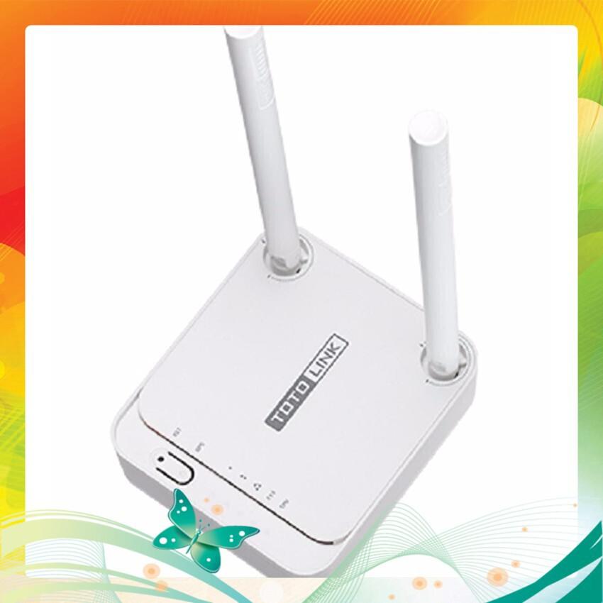 (Deal Khủng) Bộ thu phát wifi 2 râu đường truyền 300Mbps TOTOLINK N200RE-V3 Giá chỉ 223.600₫