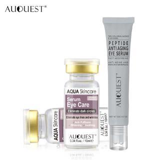 [Mã FMCGMALL - 8% đơn 250K] Bộ 2 serum + kem peptide AUQUEST chống lão hoá làm căng mịn da vùng mắt