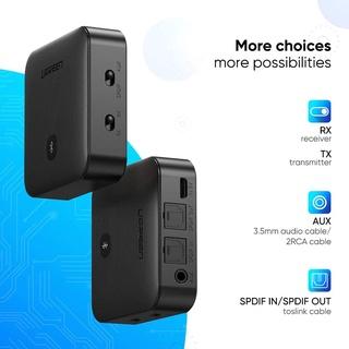 Thiết Bị Thu Phát Bluetooth 5.0 Hỗ Trợ APTX Chuẩn SPDIF Optical Ugreen 70158
