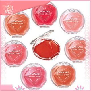 [Giảm giá thần tốc] Kem má hồng Canmake Cream Cheek Nhật Bản - Phấn má hồng dạng kem CANMAKE CREAM CHEEK Nhật Bản thumbnail