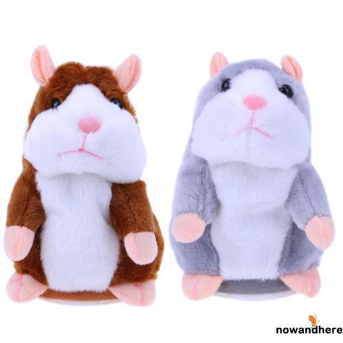 ONA-Kids Talking Hamster Speech Nod Mimicry Repeat Pet Plush Toy