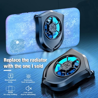 Universal Mobile Phone Radiator USB Powered Phone Cooling Fan Mute Radiator Rechargeable Smartphone Tablets Cooler Contr