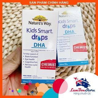 [Tem CHEMIST] DHA Nature s Way Kids Smart dạng giọt Drops 20ml - Xuất xứ Úc thumbnail