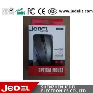 Chuột Led 5 màu Jedel M61 tặng lót chuột và dây usb nối dài