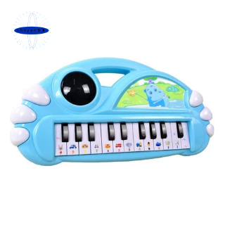 QIAOWA Q Piano Keyboard Toy for Kids Mini Piano Educational Toy(Blue)