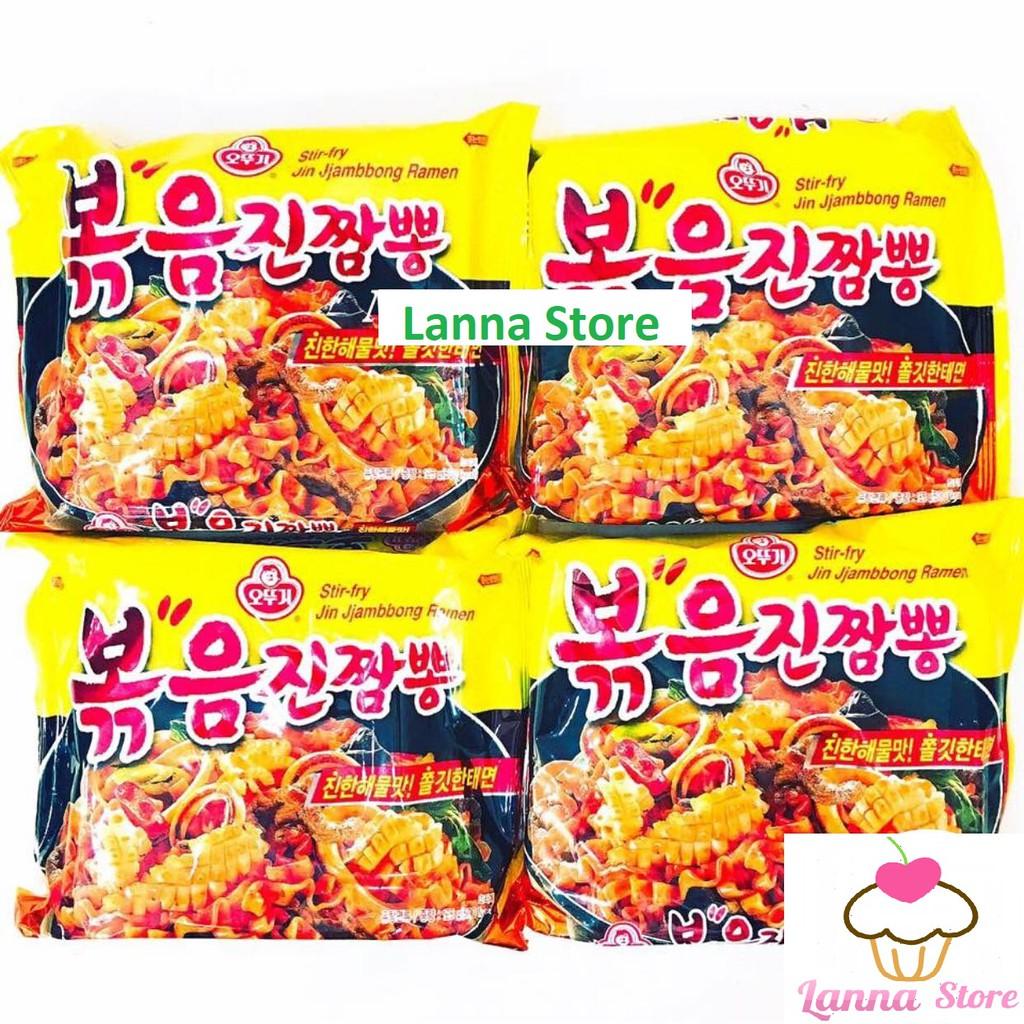 Mì trộn sốt hải sản cay Ottogi - hàng xách tay Hàn Quốc