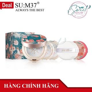 Phấn Nước Su m37 Air Rising Glow Cover Metal Cushion No.1 Set [Tặng 2 lõi refill] thumbnail