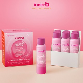 Hình ảnh Hộp 6 chai nước uống Collagen Vitamin C sáng da InnerB Glowshot (50mlx6)-3