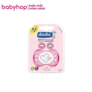 Ty giả silicon cao cấp Dodie cho bé 0-2 tháng - hàng nội địa Pháp