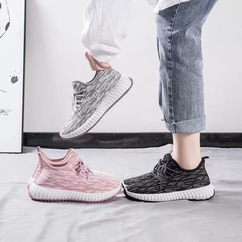Giày thể thao nữ YZ, Giày vải thời trang, thoáng khí, xuất Hàn Mua nhiều có quà tặng