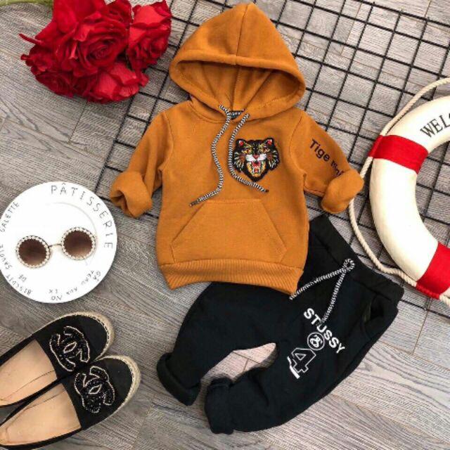 Bộ quần áo dài tay lót lông cho bé - 2608673 , 709660274 , 322_709660274 , 99000 , Bo-quan-ao-dai-tay-lot-long-cho-be-322_709660274 , shopee.vn , Bộ quần áo dài tay lót lông cho bé