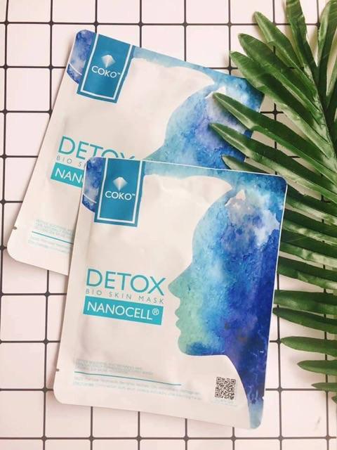 Mặt nạ Coko detox - mặt nạ tế bào gốc, hỗ trợ điều trị mụn