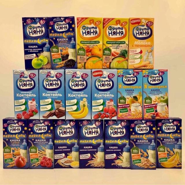 Sữa Nước Fructo Ngày Đêm 200mil date 1,2,3/2020 Mix vị