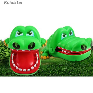 Comedo【ready stock】Tricky toy game funny bite crocodile