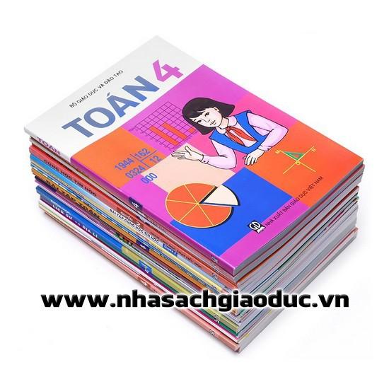 [Trọn bộ] Bộ sách giáo khoa lớp 4 + Sách Bổ trợ lớp 4 - Năm 2018 (Có tập vẽ)