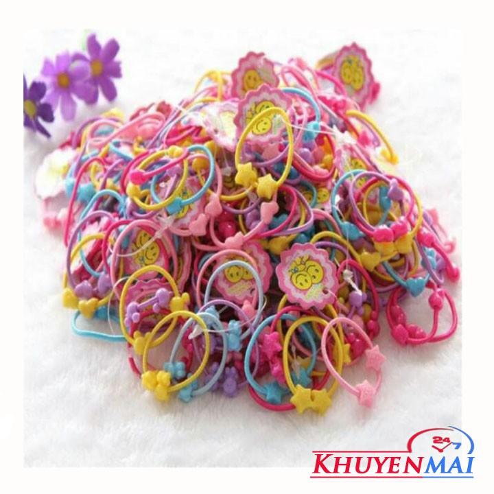 Bộ 50 dây buộc tóc cho bé gái - 2504634 , 446451161 , 322_446451161 , 30000 , Bo-50-day-buoc-toc-cho-be-gai-322_446451161 , shopee.vn , Bộ 50 dây buộc tóc cho bé gái