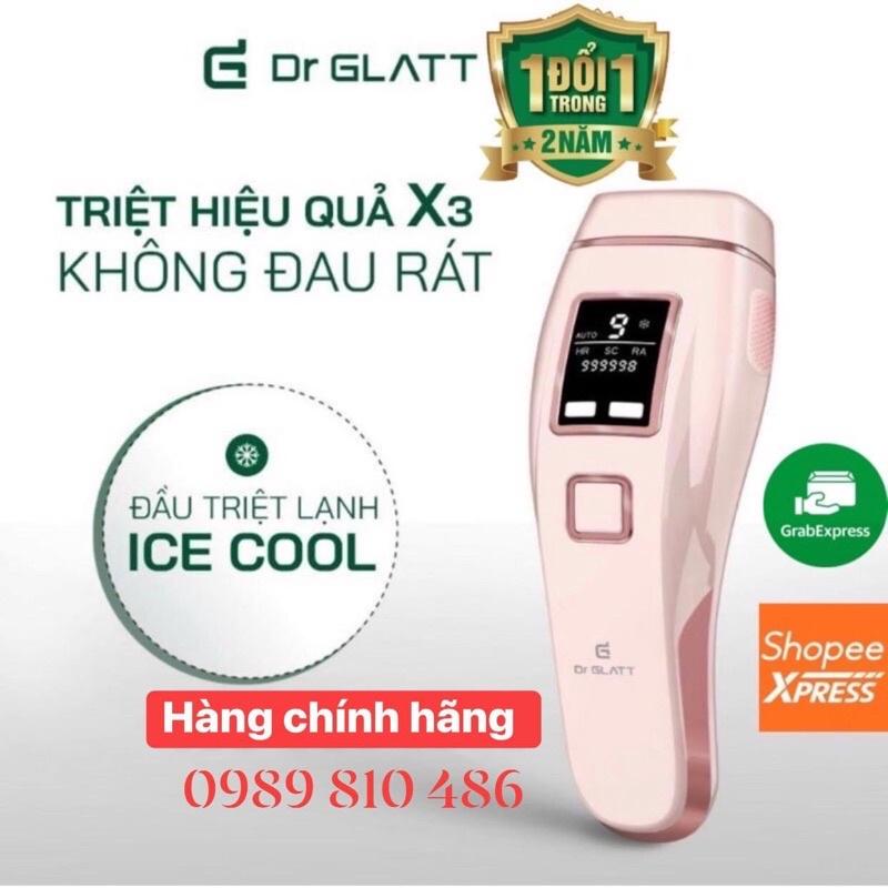 Máy Triệt Lông Dr Glatt Đức công nghệ IPL Pro trẻ hoá da làm sáng da [Hàng chính hãng]