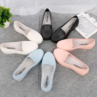 Giày Moca giày nhựa đi mưa form chuẩn nữ cao cấp V177