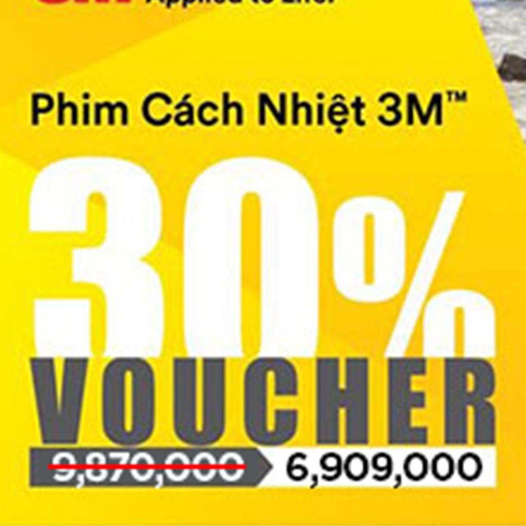 Voucher Phim Cách Nhiệt 3M (5 chỗ - 6.909.000)