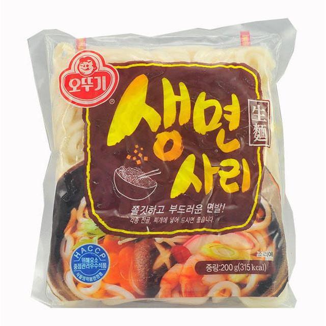 [Giá Sock] Mì udon tươi sari hàn quốc, mì làm mì tương đen