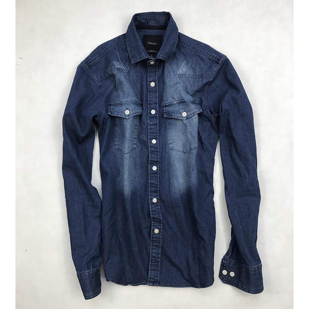 Áo sơ mi nam vải jean kiểu 2 túi xanh đậm wash kiểu - thời trang nam - 2641764 , 514289807 , 322_514289807 , 255000 , Ao-so-mi-nam-vai-jean-kieu-2-tui-xanh-dam-wash-kieu-thoi-trang-nam-322_514289807 , shopee.vn , Áo sơ mi nam vải jean kiểu 2 túi xanh đậm wash kiểu - thời trang nam