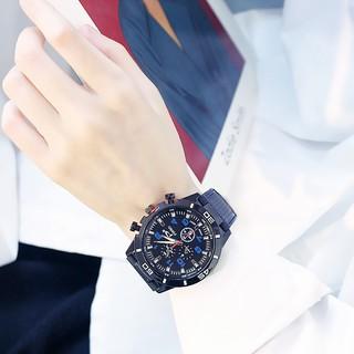 Đồng hồ nam nữ Candycat thể thao thời trang dây cao su mềm đẹp DH82