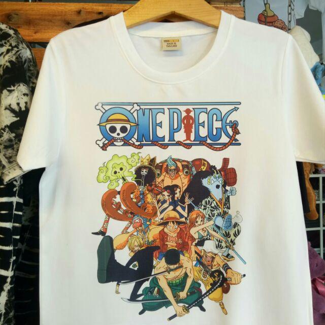 Áo thun One Piece Luffy nguyên nhóm (ảnh thật)