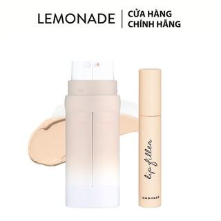 Combo Lemonade Kem nền Perfect Couple Dual Foundation 30g và Son lót đầy môi LipFiller 4.5g