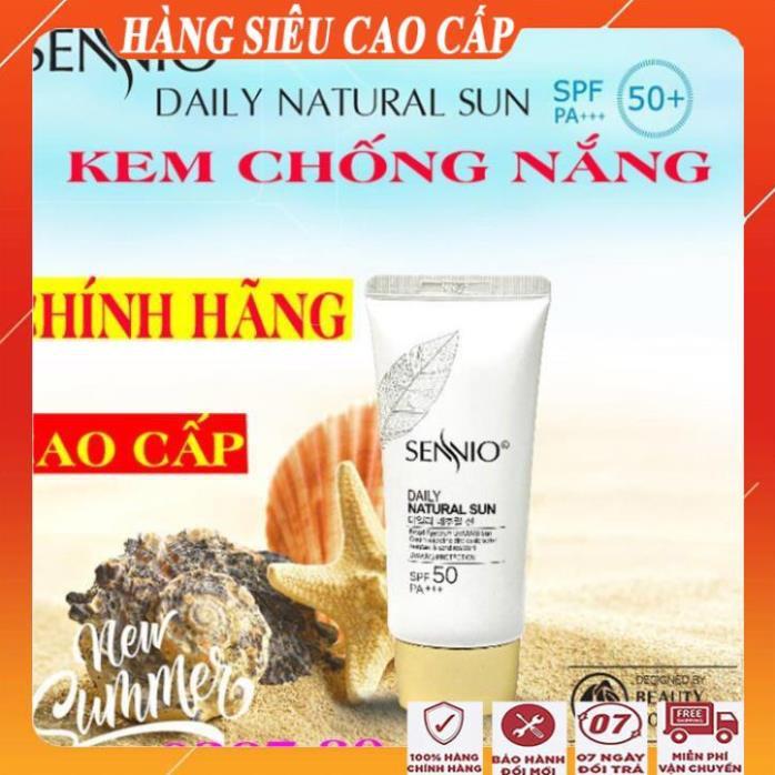 [ COMBO ĐẶC BIỆT] Kem chống nắng kềm dầu nâng tông da sennio/Kem chống nắng tốt cao cấp đa năng hàn quốc