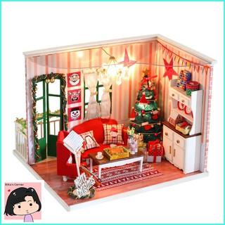 """Mô Hình Nhà Gỗ DIY """"Giáng sinh yêu thương"""""""