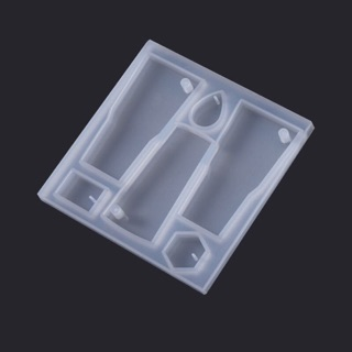 Khuôn silicon nhiều shape làm mặt dây