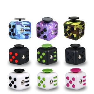 HDY Fidget Cube Decompression Magic Rubik Stress Reliever Relief Toys thumbnail