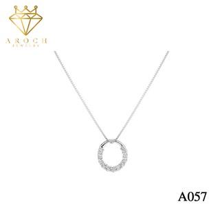Dây chuyền bạc Ý 925 Aroch Jewelry - Huyền thoại biển xanh A057