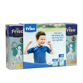 Sữa bột pha sẵn Friso Gold 180ml - Lốc 4 hộp thumbnail