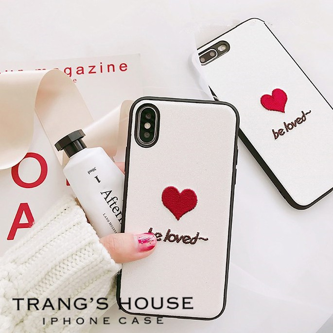 Ốp Lưng Iphone Silicon Dẻo Be Loved