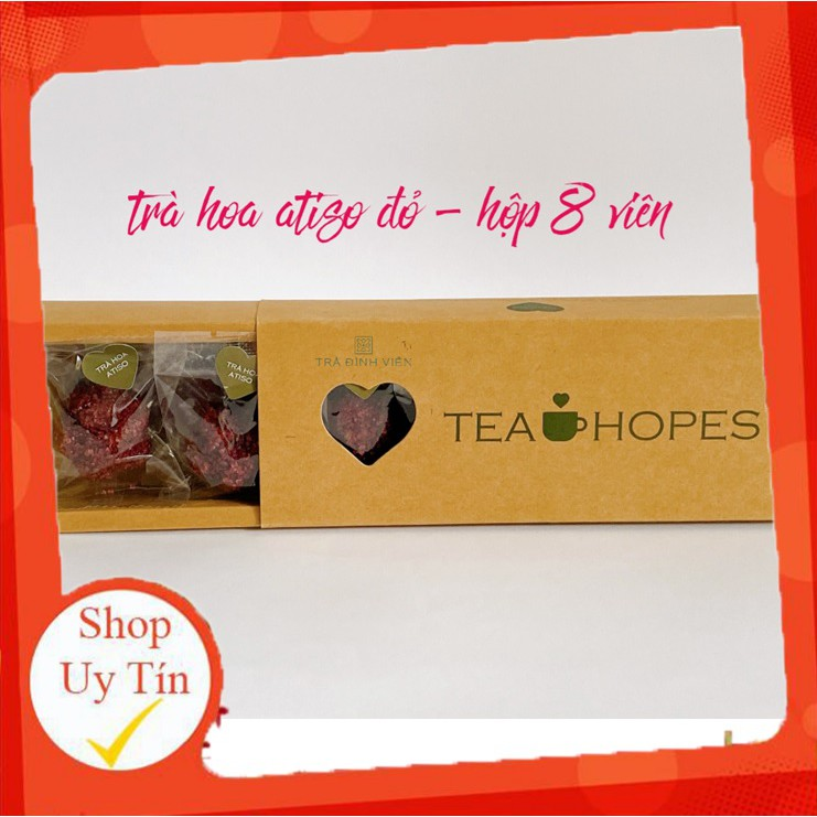 Tea Hopes - Trà viên hoa thảo mộc Atiso đỏ - 105g