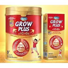 Sữa Dielac Grow Plus tổ yến 850g (Trên 3 tuổi)