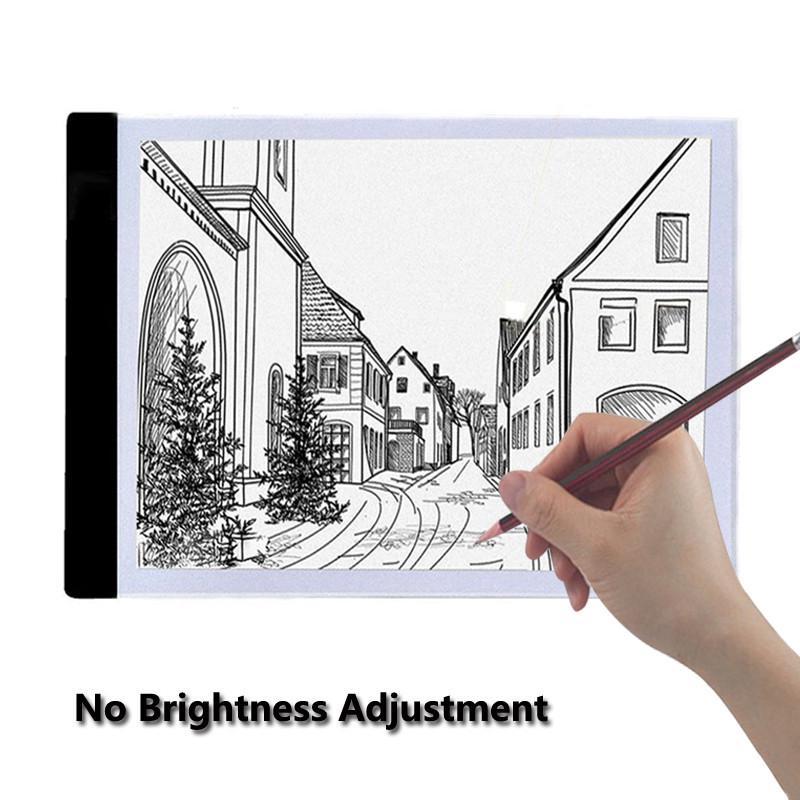 LED Tracing Light Box Board Artist Tattoo Drawing Pad Table