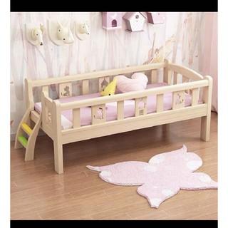 giường trẻ em gỗ thông cao cấp cỡ đại 200*100*40