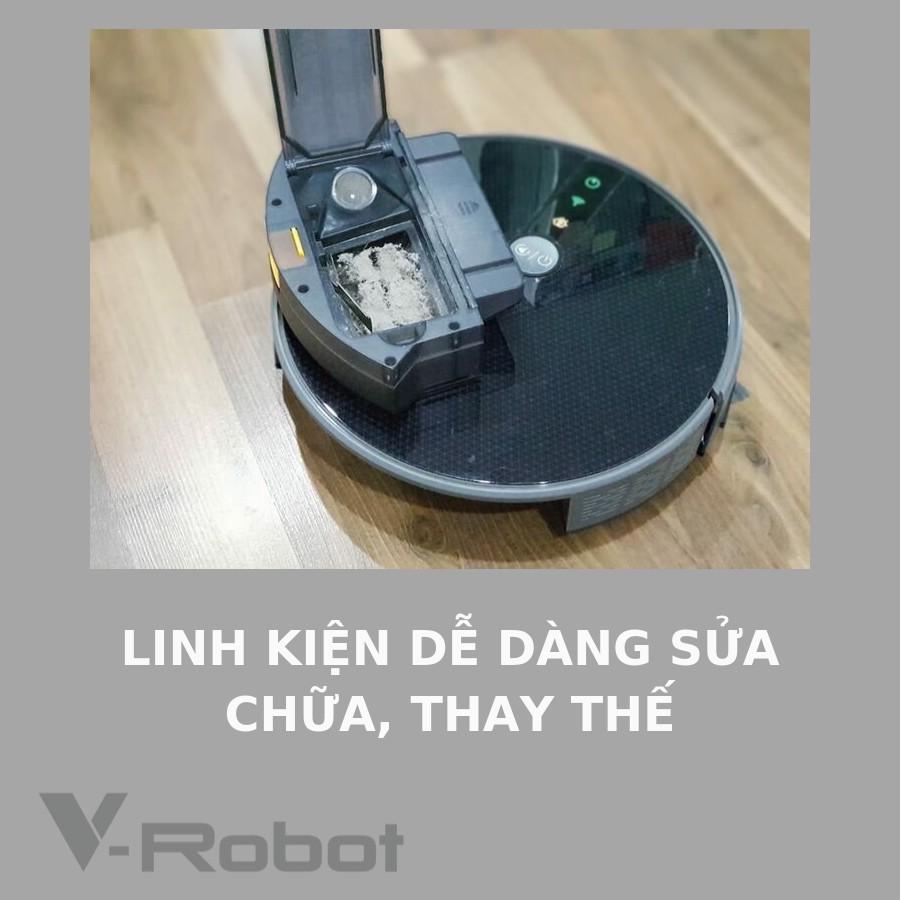 Thiết bị vệ sinh: lọc không khí, hút bụi, lau nhà Robot V33